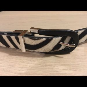 Brave Accessories - NWOT Brave Reversible Haircalf and Leather Belt